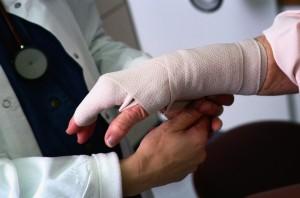 Оказание неотложной помощи при травмах